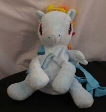 My Little Pony Rainbow Dash Character Bag / Backpack. Soft Plush toy