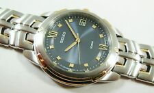 Seiko SGE766 Two-Tone Stainless Steel 7N42-0BD8 Sample Watch NON-WORKING