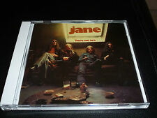 CD.JANE.HERE WE ARE .EDITION REPERTOIRE REMASTERS.73..NEUF SOUS CELLO.