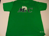 Mr-C Dallas Mavericks rare Green T-shirt Special edition vs Nuggets Extra Large