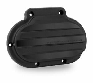 PERFORMANCE MACHINE 07-16 BIG TWIN 6-SPEED TRANSMISSION CLUTCH COVER BLACK OPS