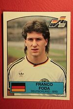 Panini EURO 88 N. 57 DEUTSCHLAND FODA WITH BACK VERY GOOD/MINT CONDITION