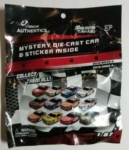 NASCAR Authentics Mystery Bag Wave 4-  1:87 Diecast Car & Sticker. Free Shippin