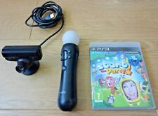Sony Move Controller & PS3 Eye Camera avec Start The Party Game Pal UK