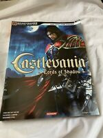 Castlevania Lords Of Shadow Bradygames Official Strategy Game Guide ,Xbox,ps3,