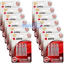 48 x pilas AAA Agfa 12 paquetes de 4 Tamaño Pequeño-Lote De Trabajo Comercio Precio al por mayor