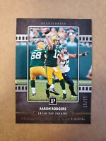 2018 Panini SSP #d /20 Human Highlight Reel Aaron Rodgers #12 Green Bay Packers