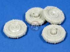 Panzer Art 1/35 Road Wheels with Chains for VW Kubelwagen (4 pieces) RE35-135