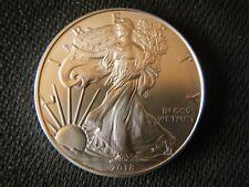 Brilliant Uncirculated 2018 American-Eagle Silver Dollar BU