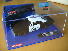 Carrera Digital 132, Plymouth Road Runner Police, limited Edition, mit Licht