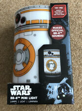 D10 STAR WARS BB-8 MINI LIGHT with SOUNDS *  Bedside Desk Lamp * NEW Boxed