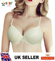 f7eaf07e4f Sexy Lady s Boost Enhancer Padded Push Up Comfort Bra UK size 36B white JHSN
