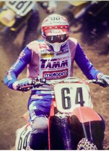 AMA Motocross Supercross TEAM TAMM Racing Jersey FACTORY Honda Cr 125 250 500