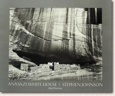 Anasazi White House Poster By Stephen Johnson Signed High Resolution 23x28 inche