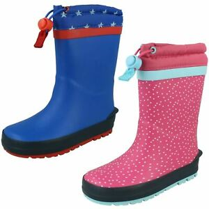 Clarks Childrens Casual Wellingtons Mudder Race