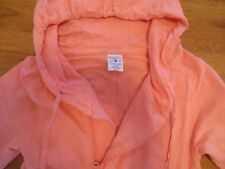 Breathe by Body Glove Women's Bright Orange Jacket Hoodie Cover-up Size M