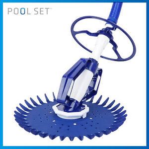 Pool Set Swimming Pool Cleaner Floor Climb Wall Automatic Vacuum Auto Pool