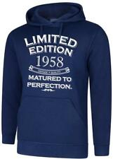 62nd Birthday Present Gift Limited Edition 1958 Matured Mens Womens Hoodie Hoody