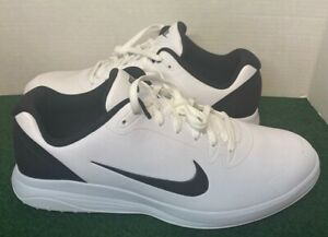 Nike Men's Infinity G Golf Shoes, White/Black, CT0535-101, (Size 9.5WIDE US)