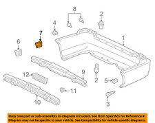 ACURA HONDA OEM Rear Bumper-Bumper Cover Spacer 71598S30013