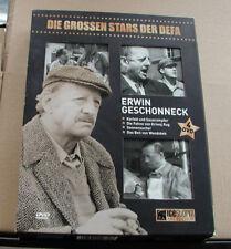 DVD-Box (4 DVDs) - Erwin Geschonneck - 4 Filme