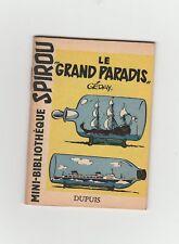 GEDAY le grand paradis   mini-récit Spirou 6