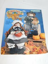Pilgrim Doll Craft Kit Thanksgiving Fall Decor Stitch N Stuff Activity 1996