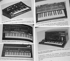 1982 Analog Synthesizer Basics - Korg Moog Polymoog PAIA DMX E-mu Oberheim ARP