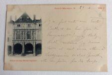 CPA. PONT A MOUSSON. 54 - Maison des Sept Péchés Capitaux. Précurseur. 1899.