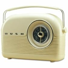 Bush Retro DAB Radio - Cream - Free 90 Day Guarantee