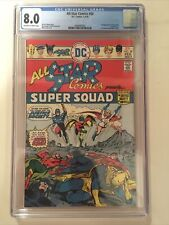 All Star Comics #58 CGC 8.0 Off White To White Pages  1st app. Power Girl