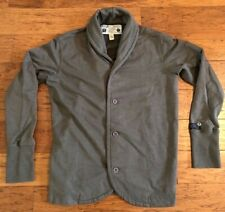 DIESEL CO., ONLY THE BRAVE, MEN's BUTTON DOWN SWEATER, Extra Large, Gray