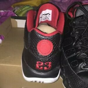 Big Kids (Black/Red/White) Size 6 Reto 9 low Jordan Shoes