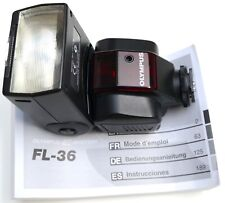 Olympus FL-36 flashgun. Hardly used & in excellent condition