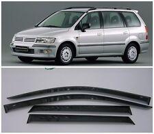 For Mitsubishi Space Wagon 1998-04 Window Visors Sun Rain Guard Vent Deflectors