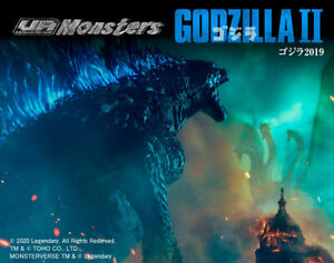 NEW MegaHouse UA Monsters Godzilla 2019 LED Light up gimmick Luminous Roar F/S
