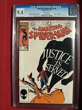 The Amazing Spider-Man 278 CGC 9.4 NM