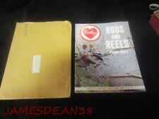 1967 BERKLEY  FLY SPINNING BAITCAST RODS REELS BROCHURE SALES CATALOG ENVELOPE
