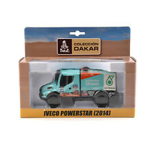 DAKAR Iveco Powerstar #501 Truck Car Vehicles Race Diecast Alloy 1/43 Collection