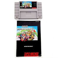 Super Mario Kart (Super Nintendo, 1992) Authentic w/ Manual Tested & Works