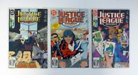 JUSTICE LEAGUE OF AMERICA #41, 42, 43 DC Comics Lot Run of 3 FN-VF 1990