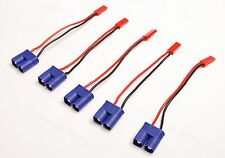 Lot(5) EC3 Style Male To JST Female Adapter 20awg Wire for RC ESC Power