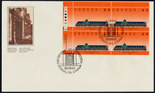 Canada 1182 TL Plate Block on FDC - McAdam Railway Station