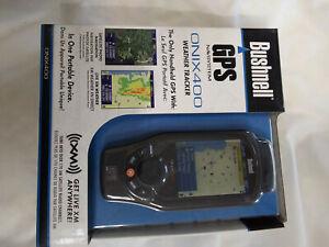 "Bushnell ONIX400 3.5"" GPS Weather Tracker with XM Satellite Radio"