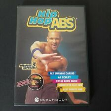 Hip Hop Abs 2 DVD Set Workout Fitness Shaun T by Beachbody Includes 3 Workouts