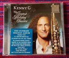 Kenny G ~ The Greatest Holiday Classics ( Malaysia Press ) Cd