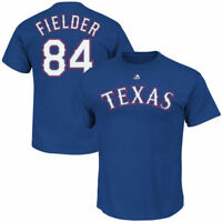 Majestic Men's Texas Rangers Prince Fielder #84 Player Name & Number T-shirt