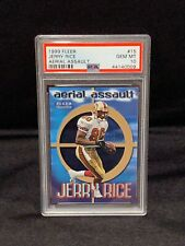 1999 Fleer Aerial Assault #15 - JERRY RICE - PSA 10 Gem Mint San Francisco 49ers