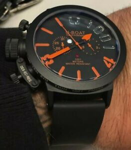 AUTOMATIC 50mm U Boat Wacht Orange Edition by Parnis Company