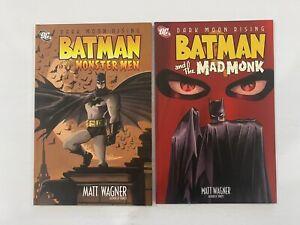 Batman - MONSTER MEN VOL. 1 & MAD MONK VOL. 2 - Graphic Novel TPB - DC
